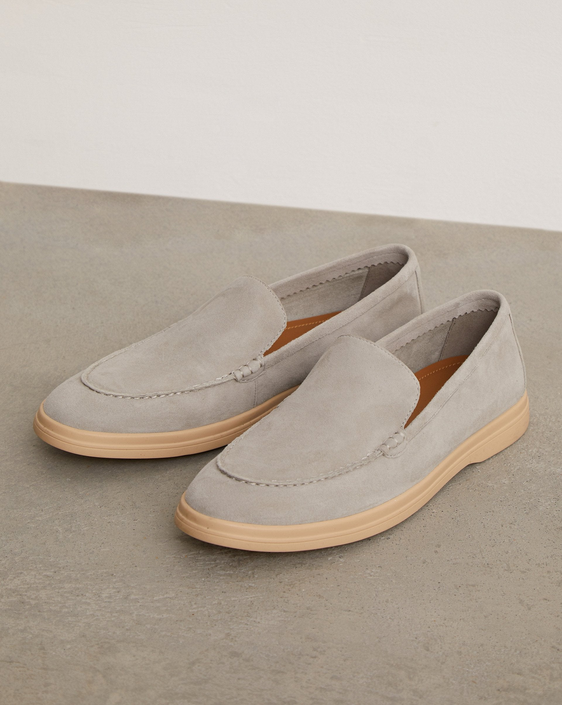Round toe suede loafers - 12 STOREEZ