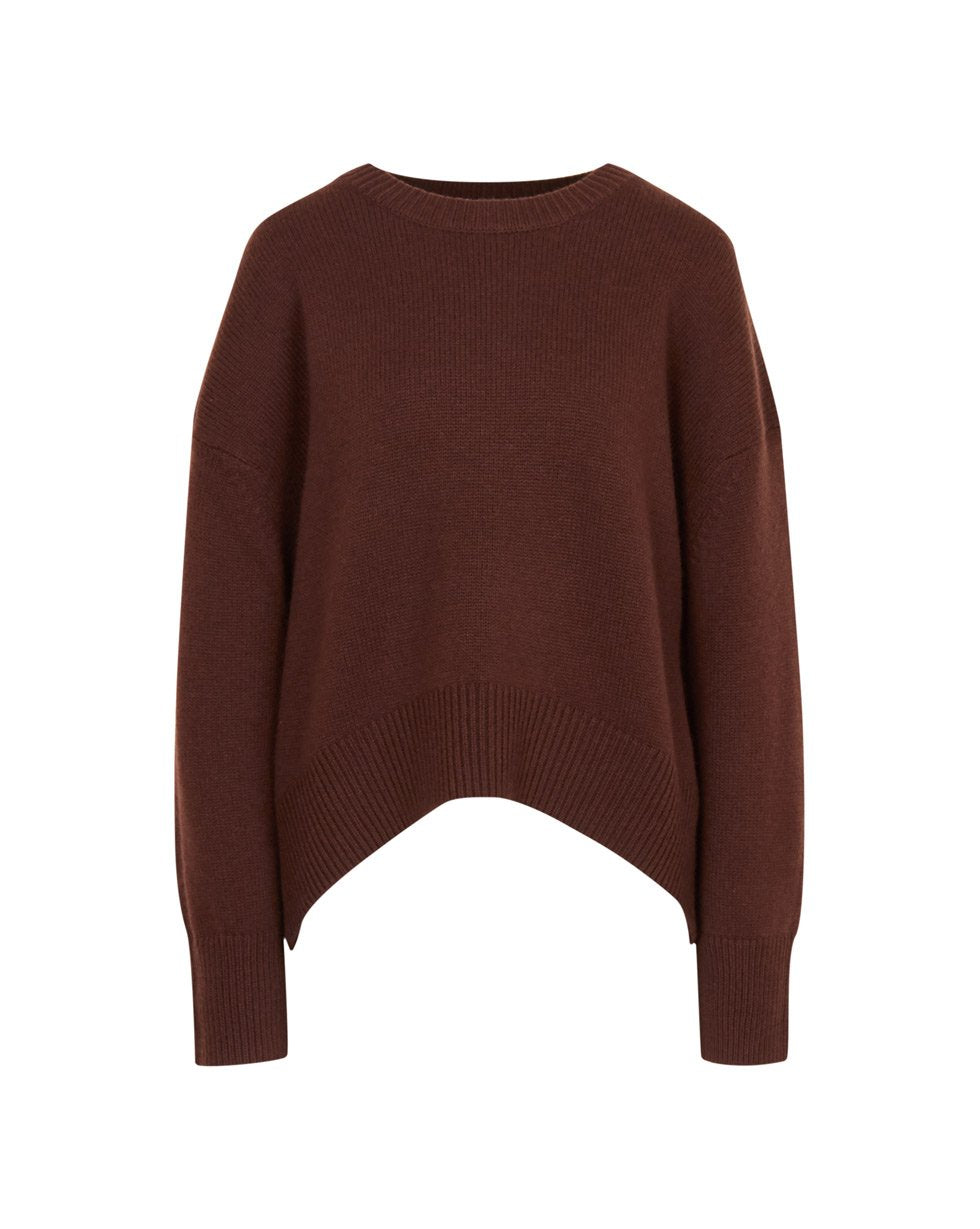 Cashmere and wool blend crew neck jumper - 12 STOREEZ
