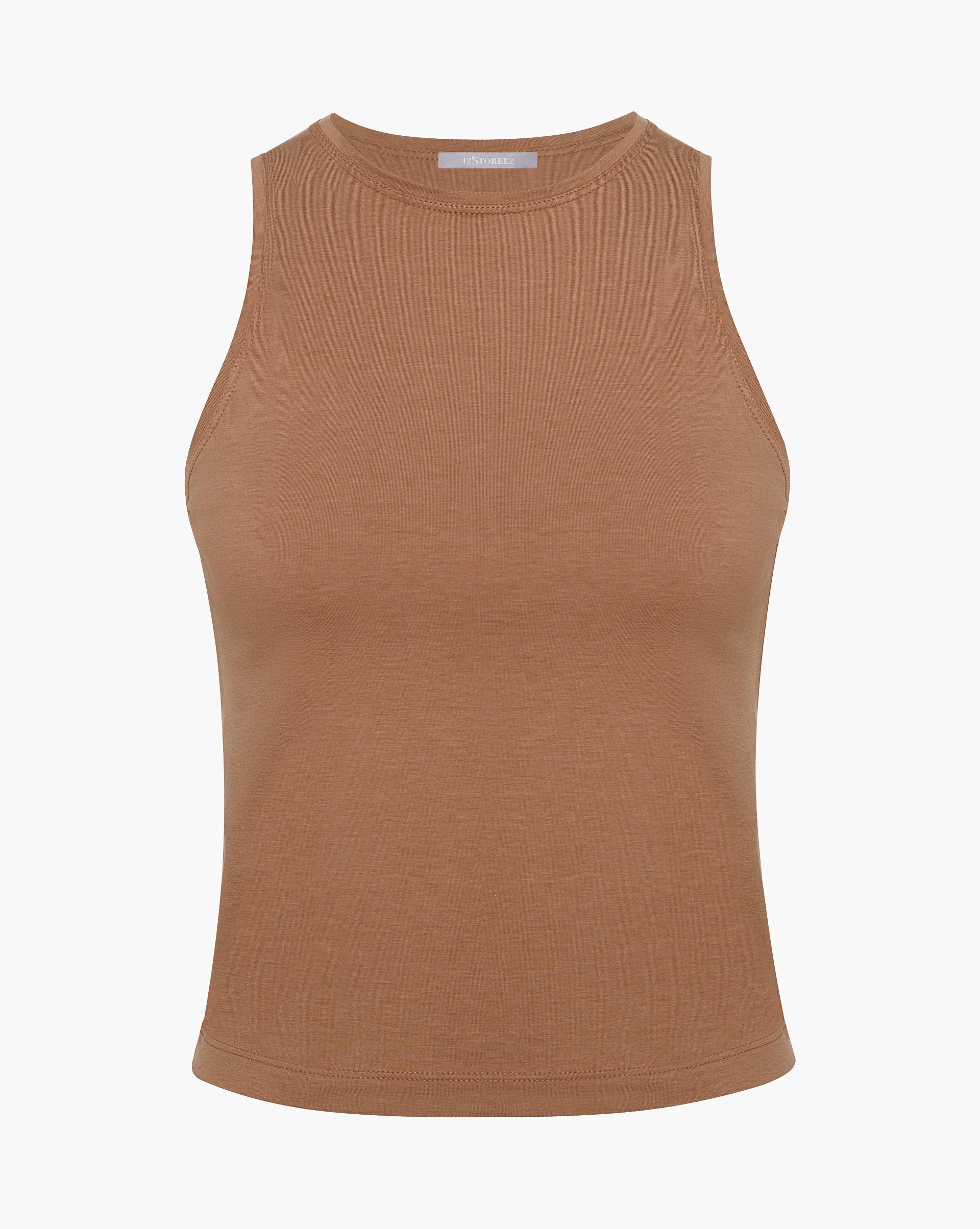 Cotton blend tank top - 12 STOREEZ