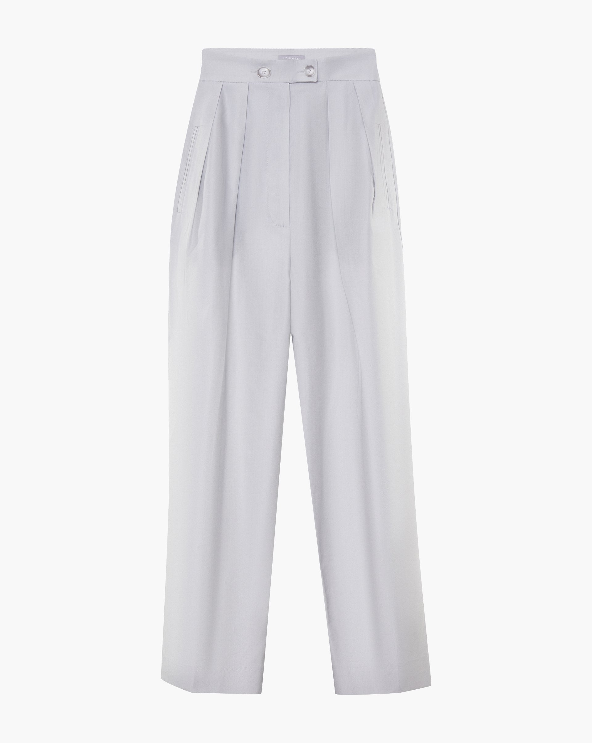 Cropped pleated trousers - 12 STOREEZ