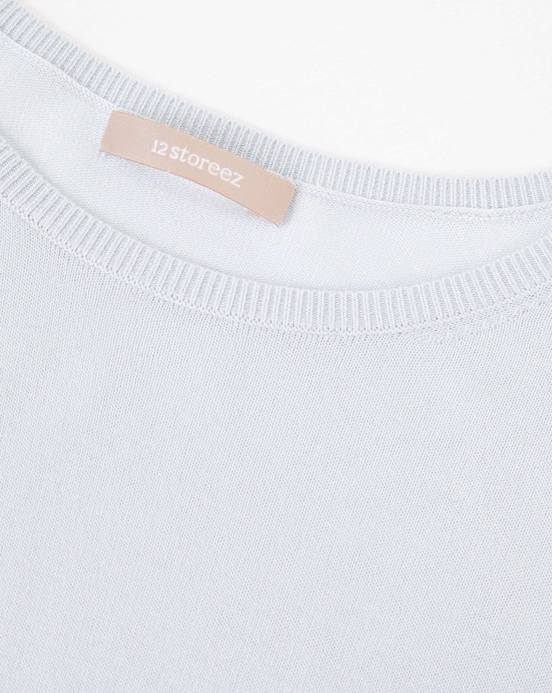 Relaxed knit T-shirt - 12 STOREEZ