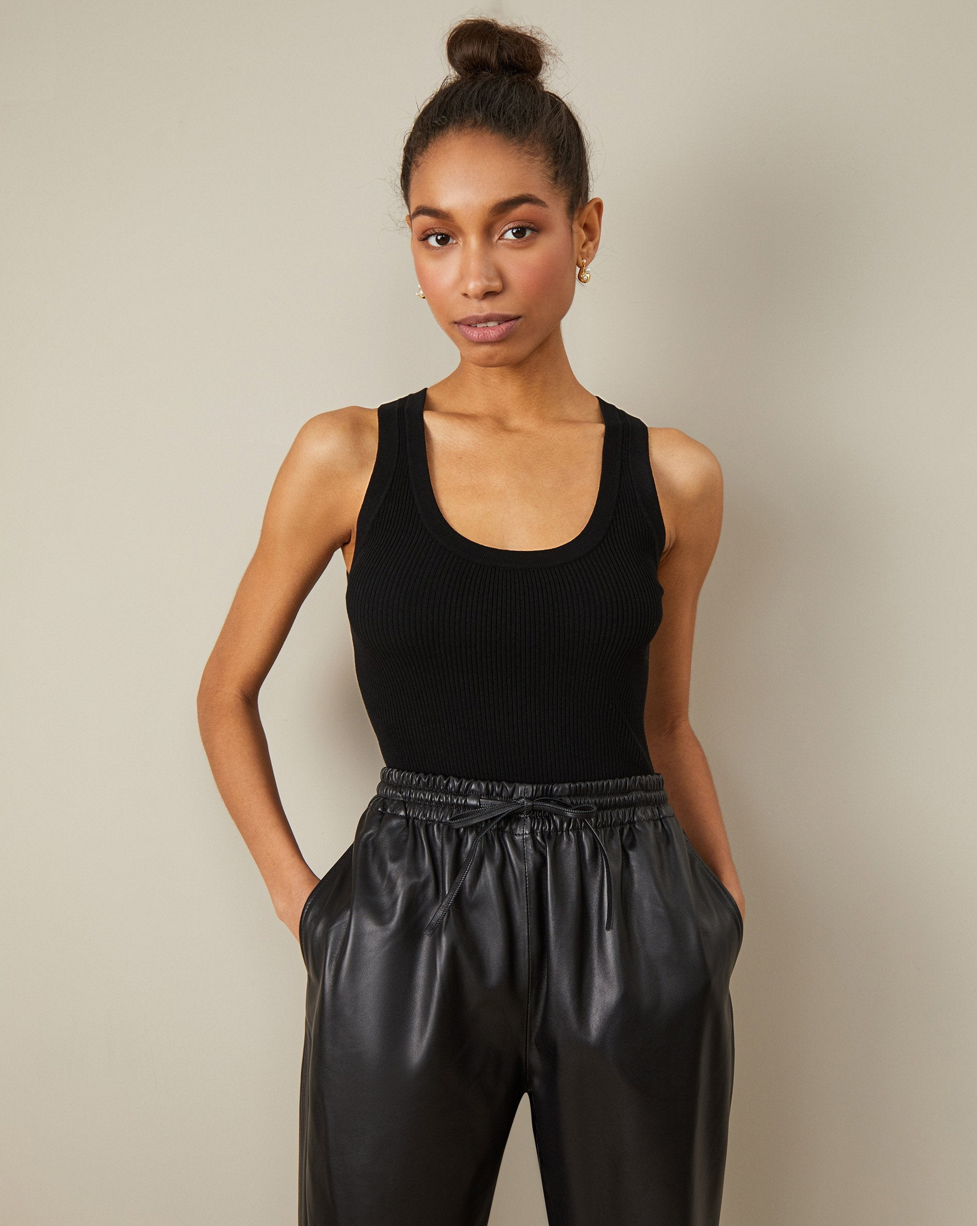 Leather trousers - 12 STOREEZ