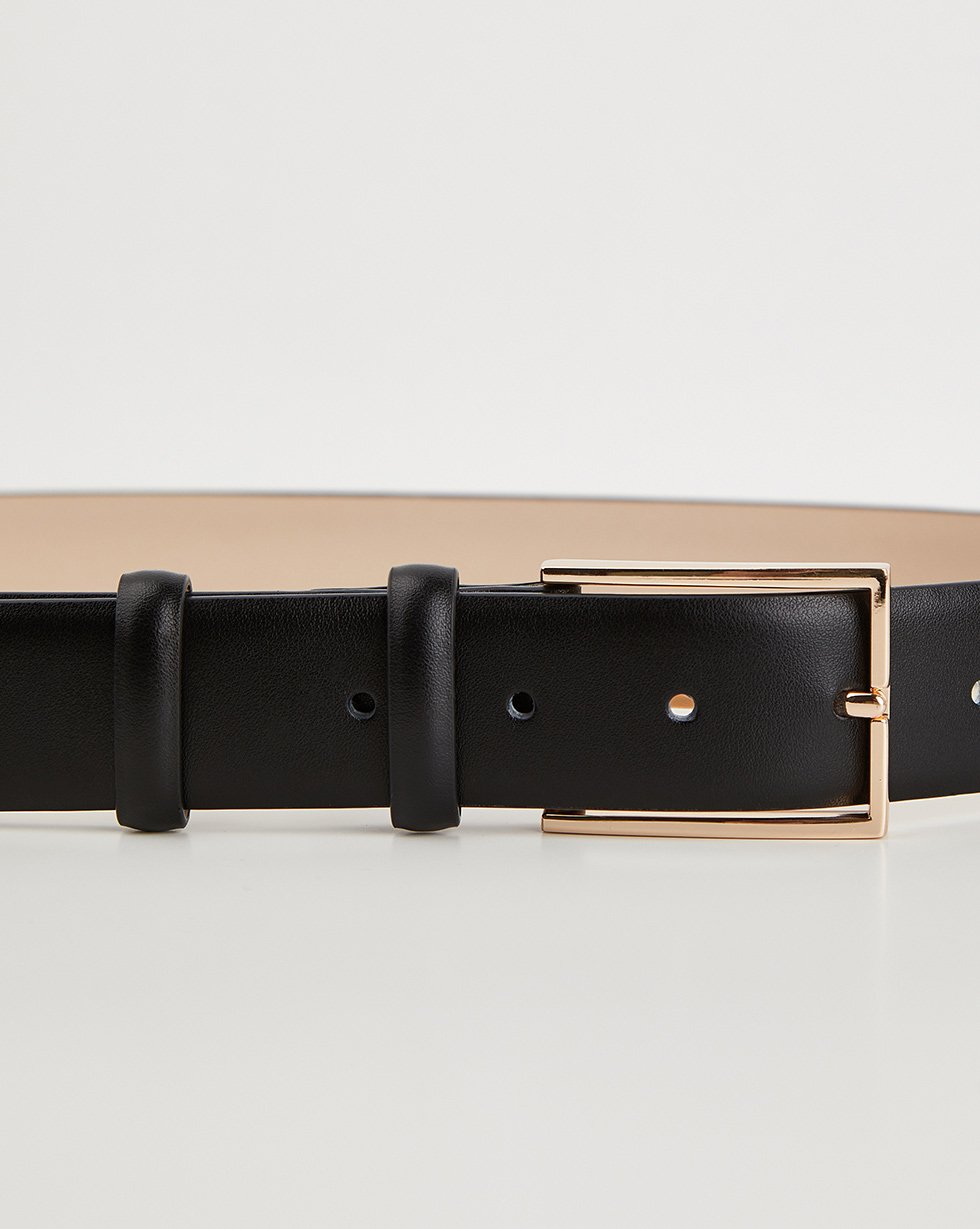 Rectangle buckle belt - 12 STOREEZ