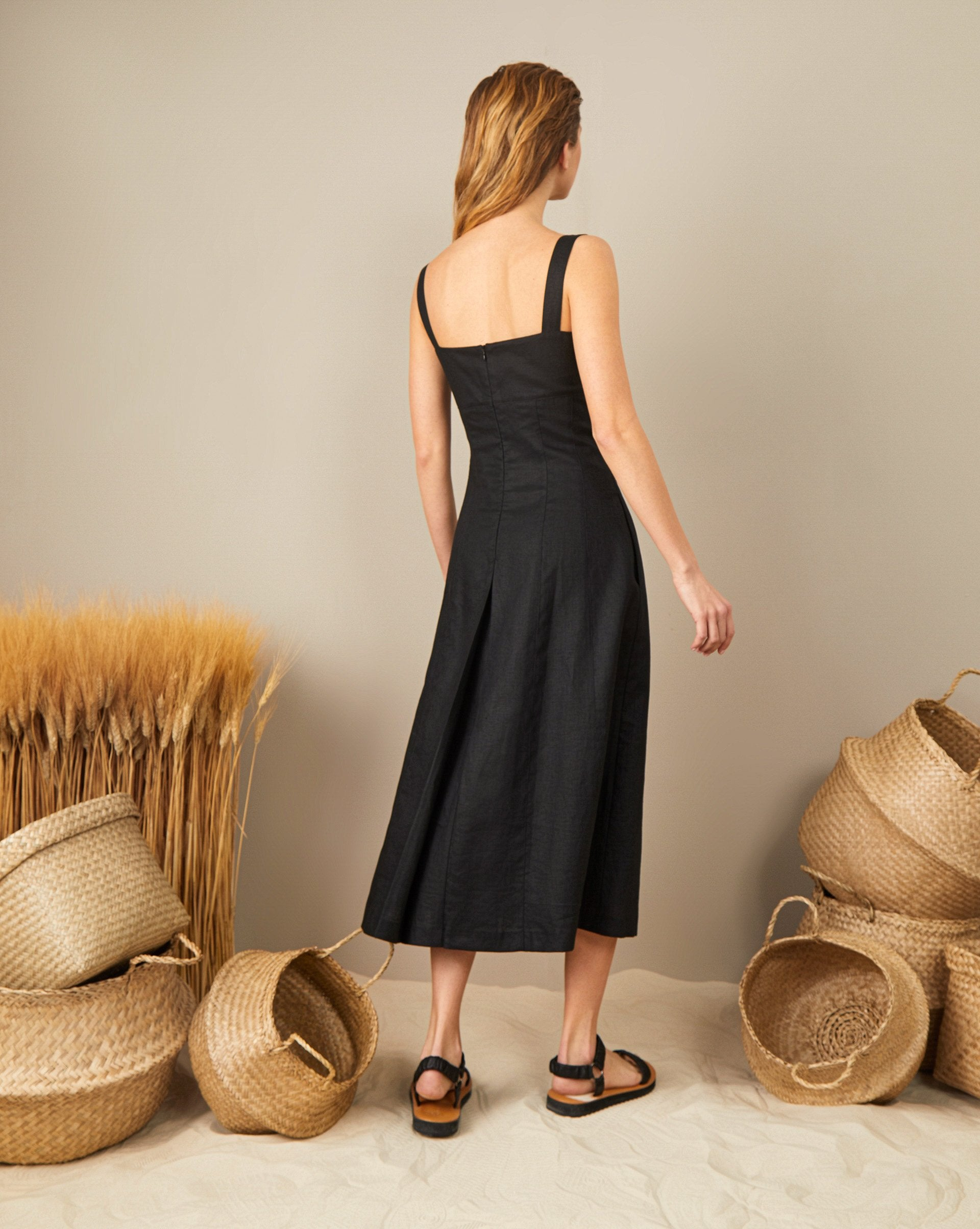 Linen sundress - 12 STOREEZ