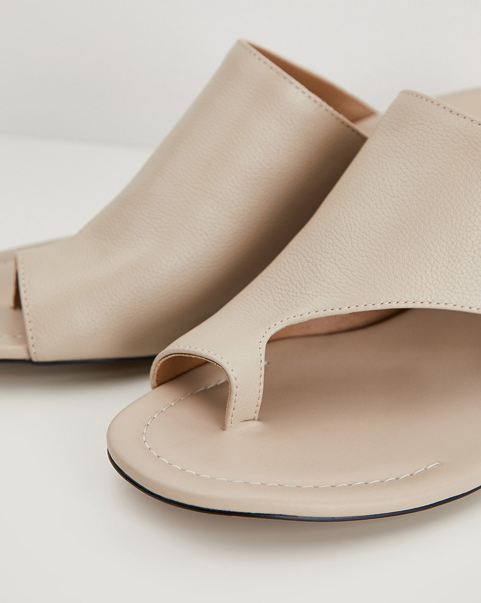 Open mules with a jumper - 12 STOREEZ