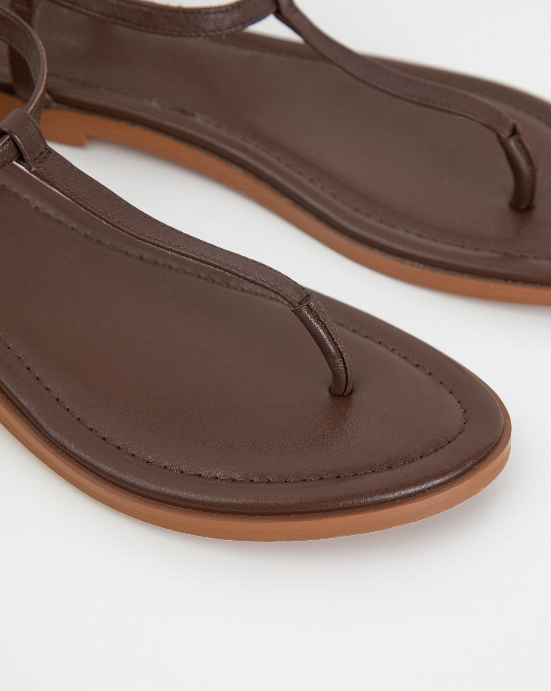 Leather strap sandals - 12 STOREEZ