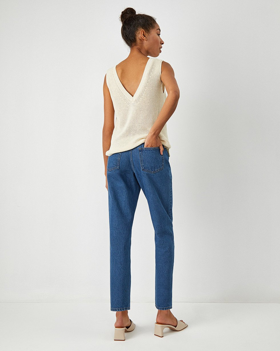 Slim fit button fly jeans - 12 STOREEZ