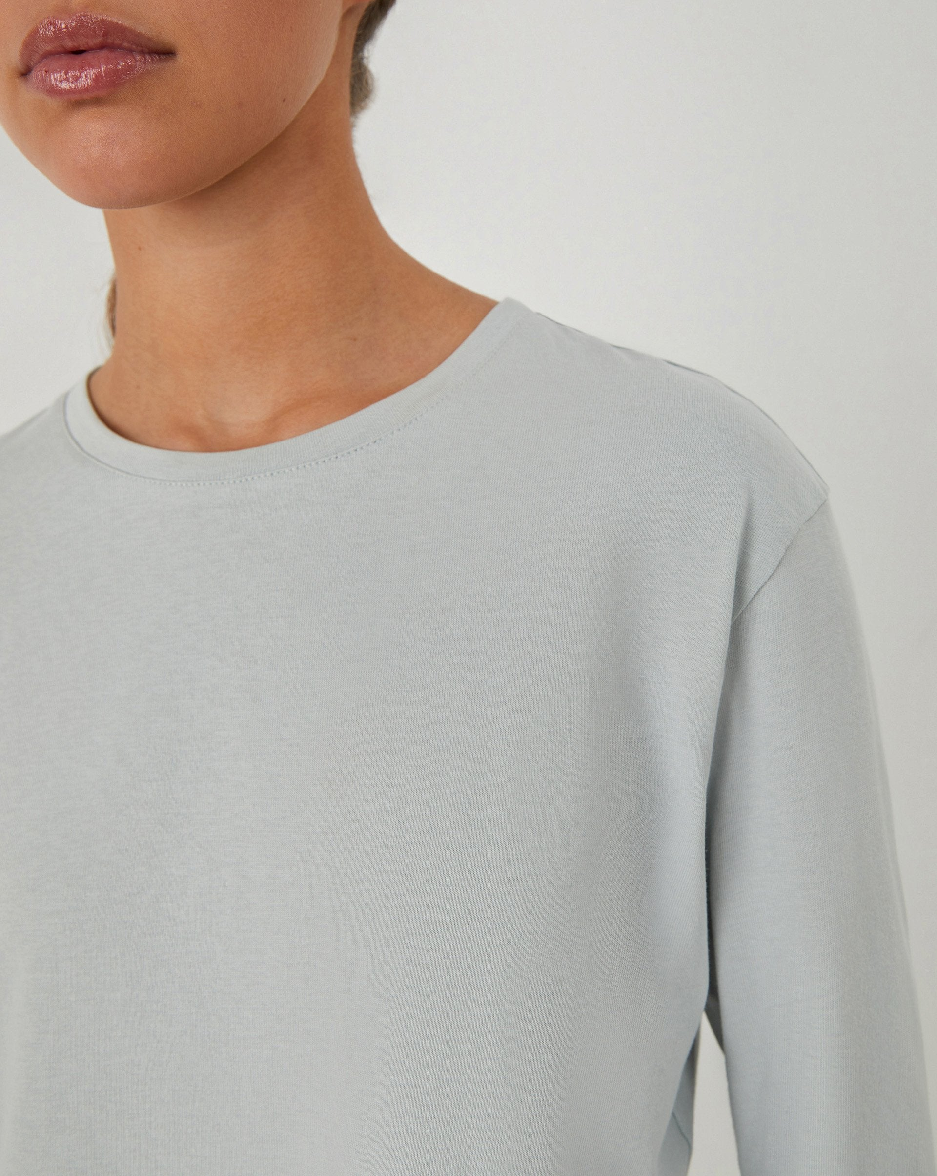 Cropped long sleeve T-shirt - 12 STOREEZ