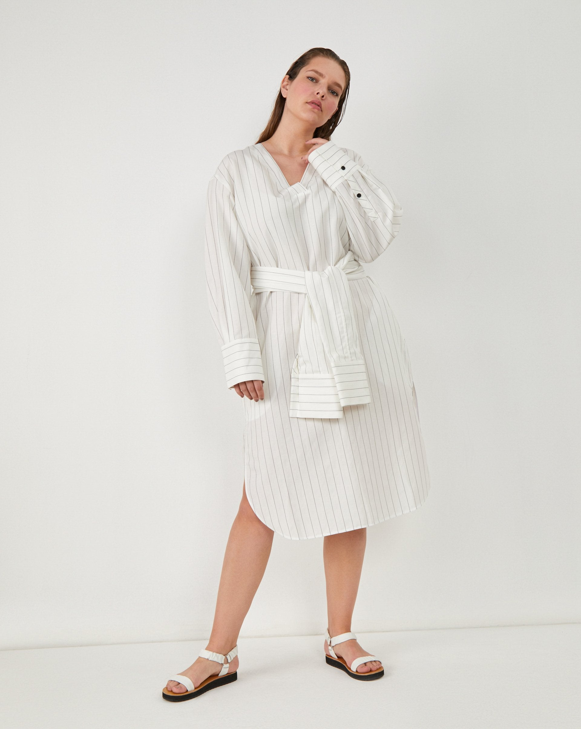 Striped shirt dress - 12 STOREEZ