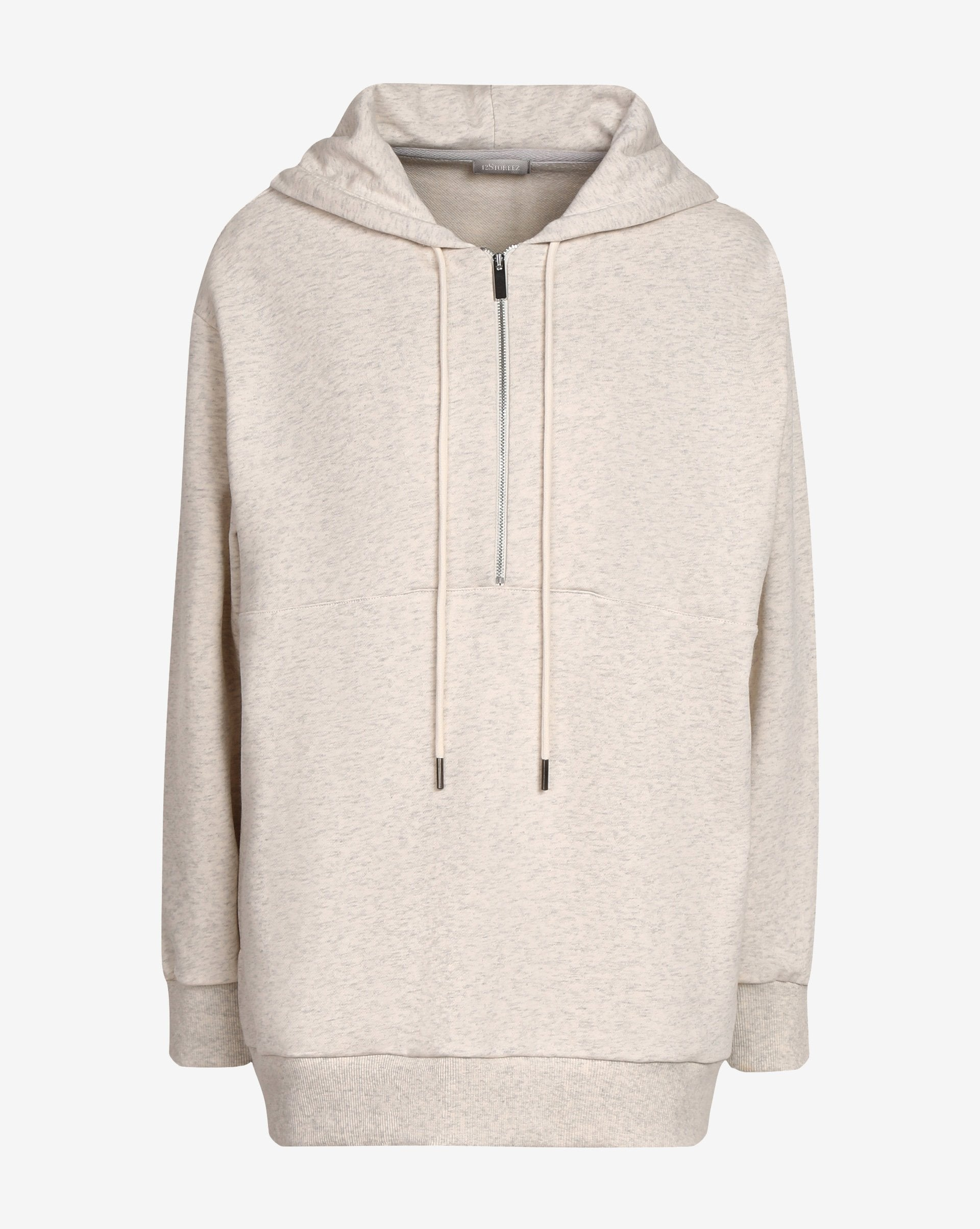 Half zip hooded sweatshirt - 12 STOREEZ