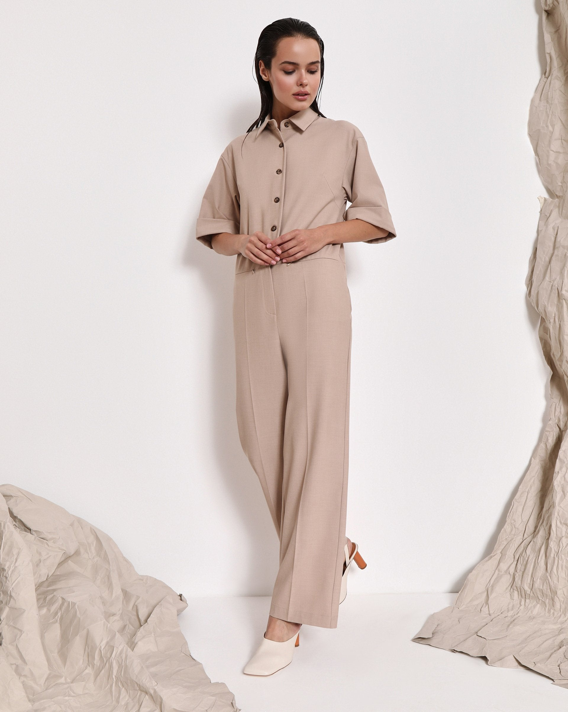 Button up jumpsuit - 12 STOREEZ