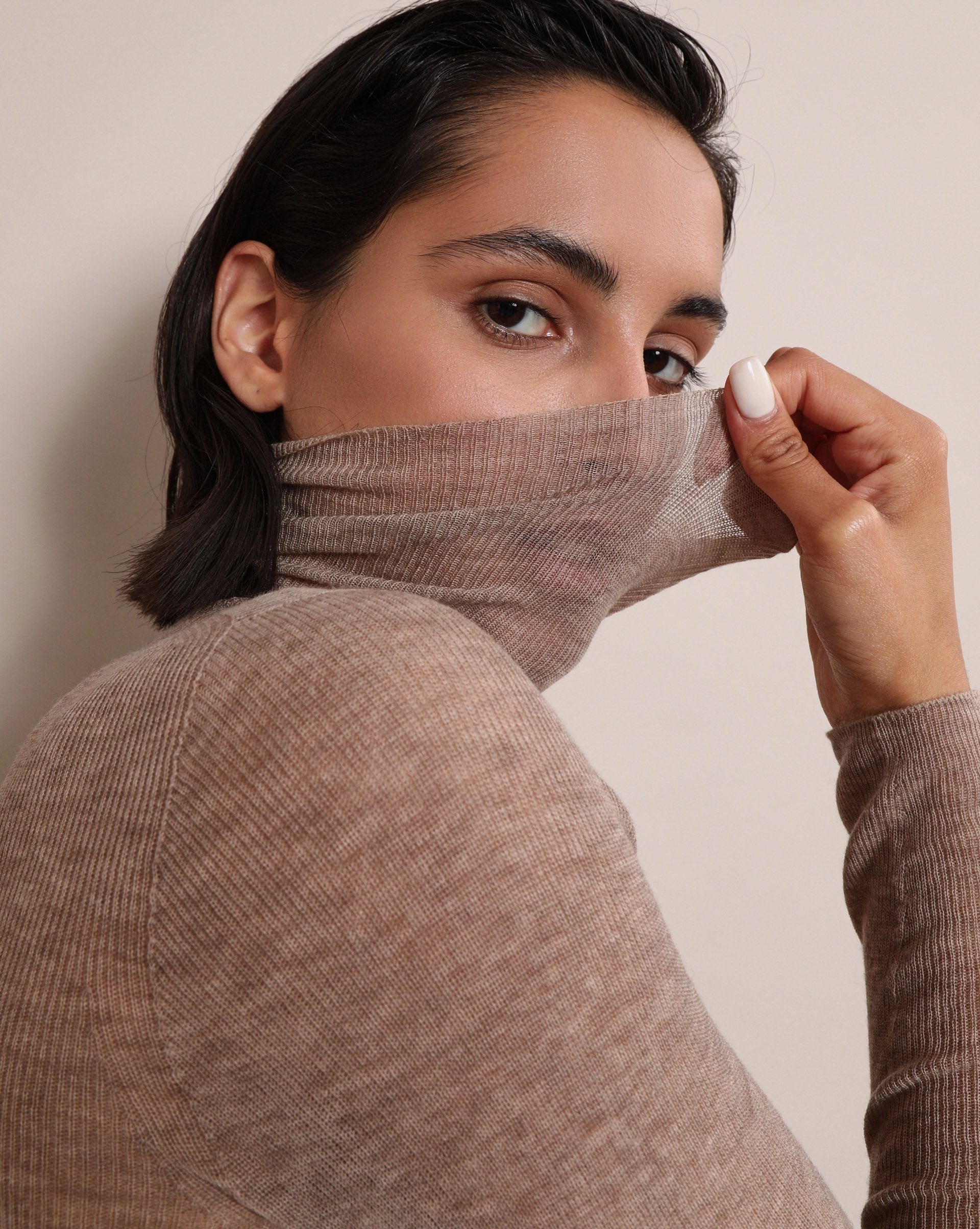 Fine-knit turtleneck sweater - 12 STOREEZ
