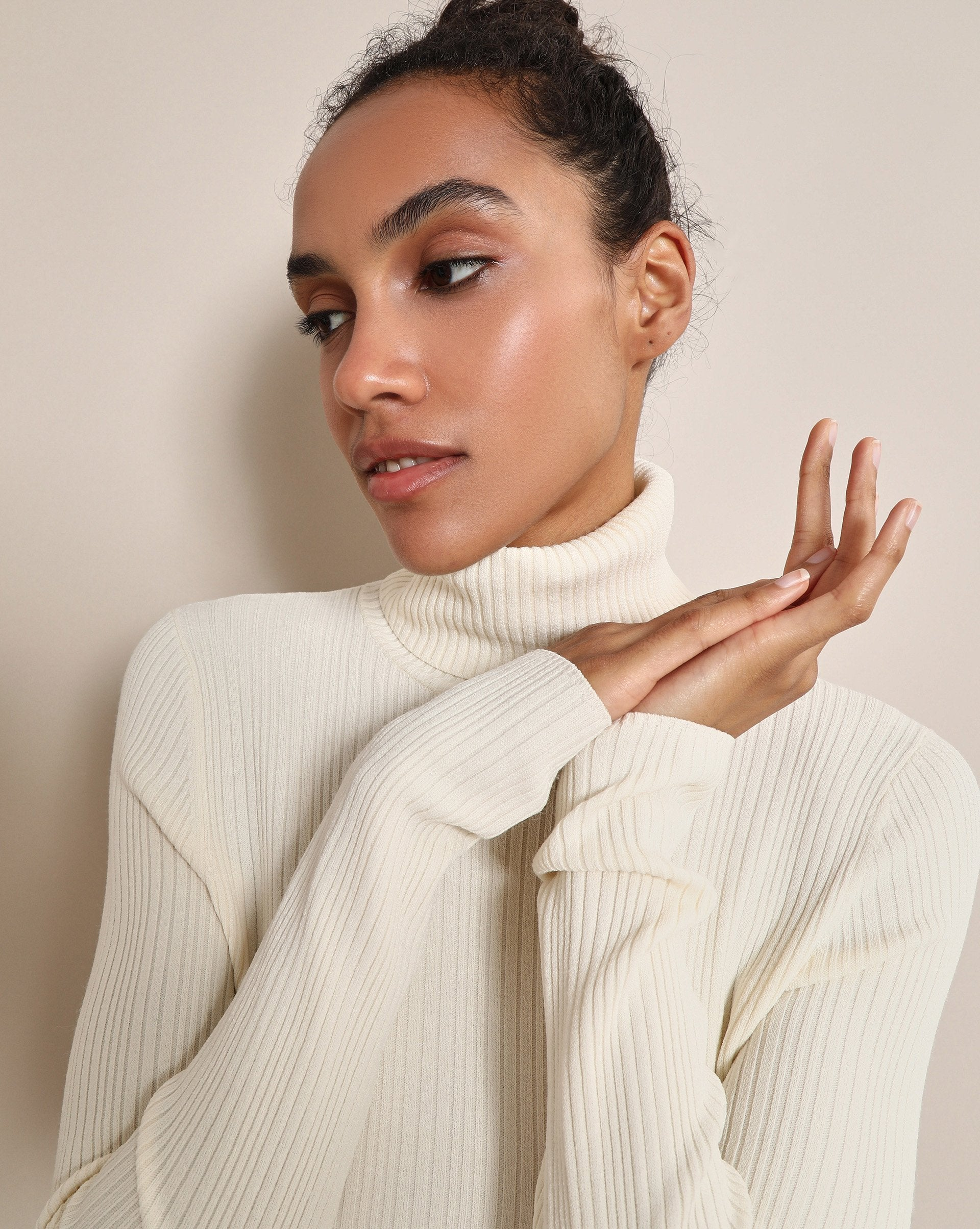 Ribbed turtleneck jumper - 12 STOREEZ