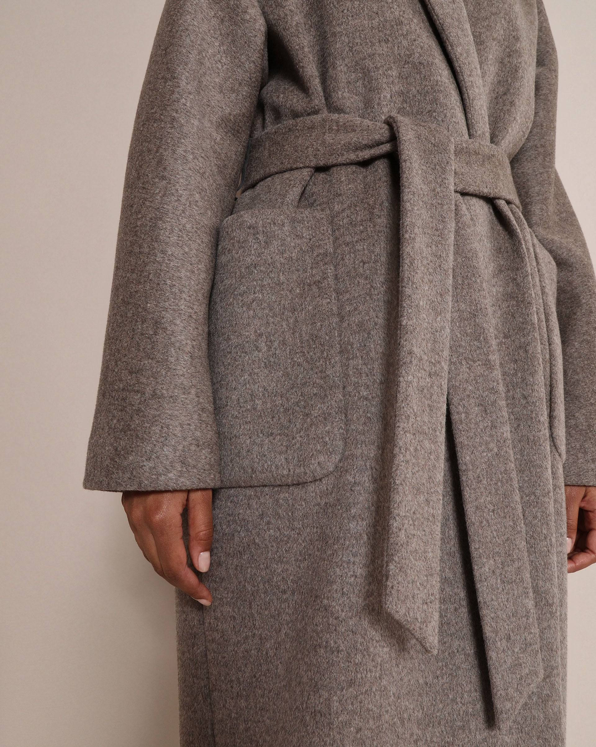 Wool and cashmere belted coat - 12 STOREEZ
