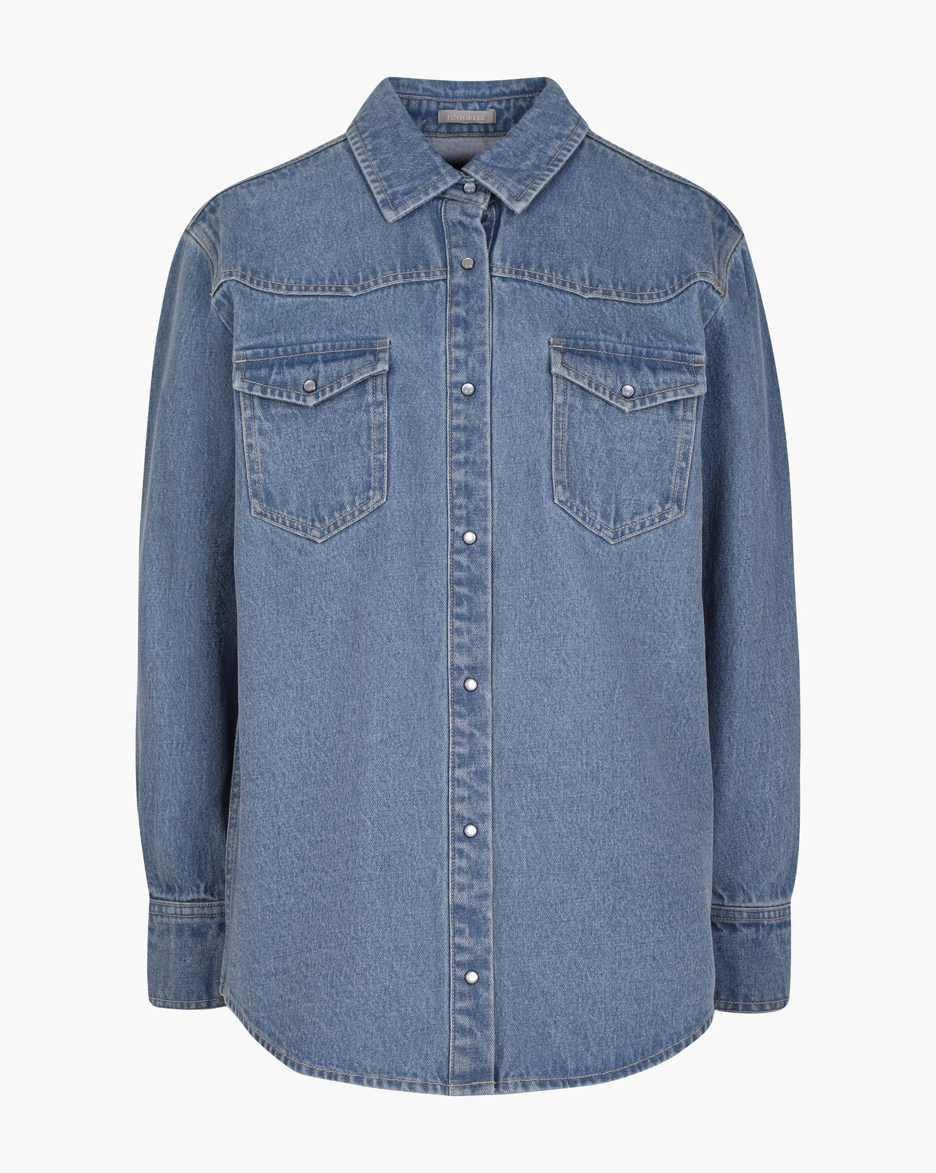 Denim shirt - 12 STOREEZ