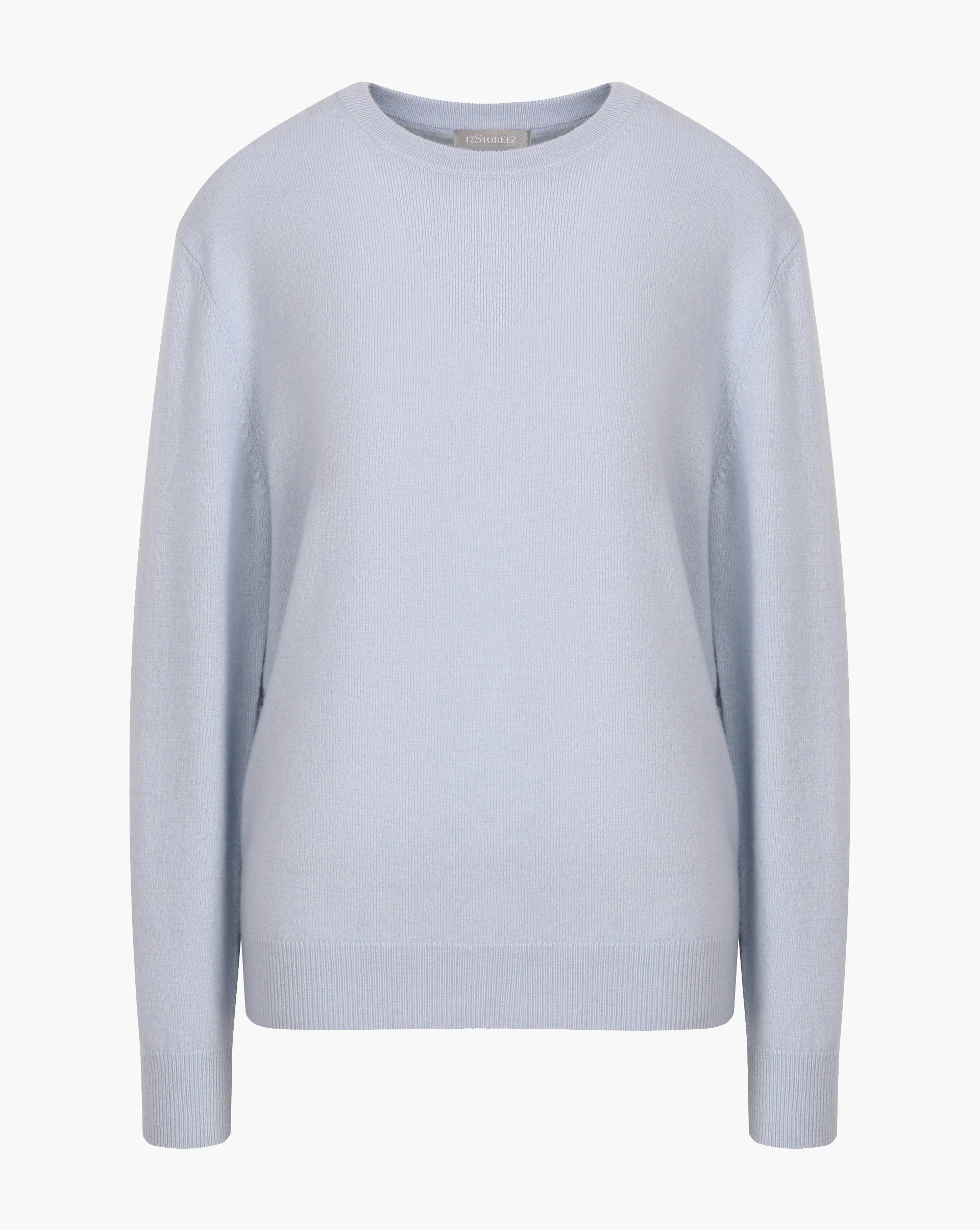 100% cashmere crew neck jumper