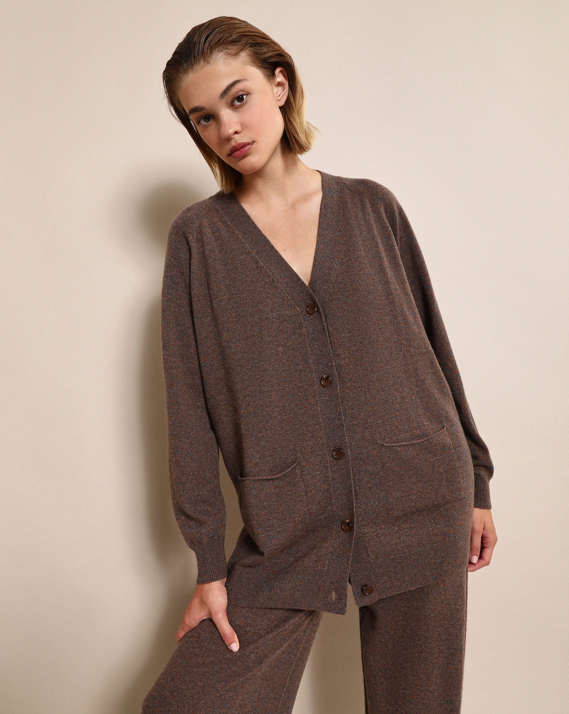 Oversized knit cardigan - 12 STOREEZ