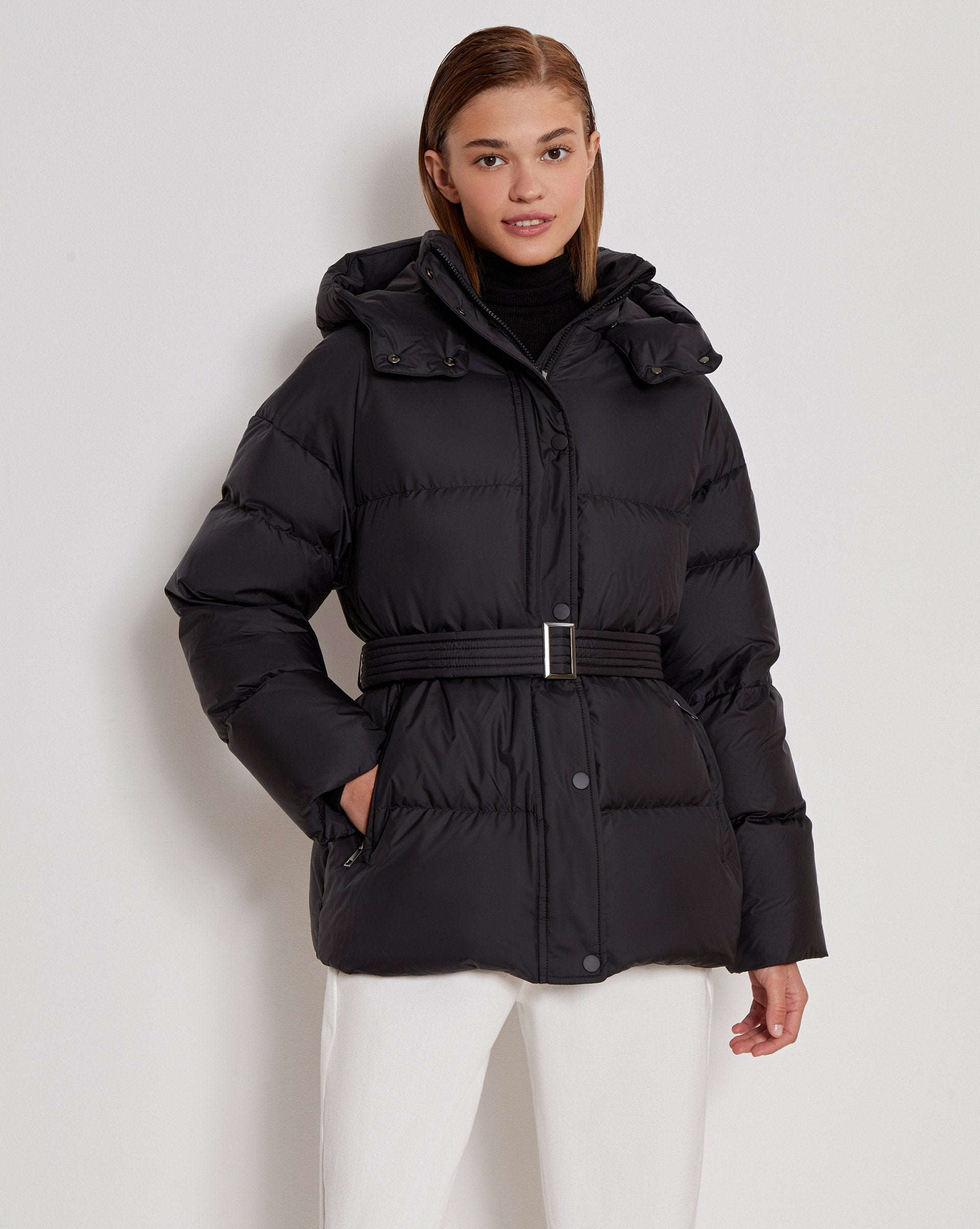 Belted puffer jacket - 12 STOREEZ