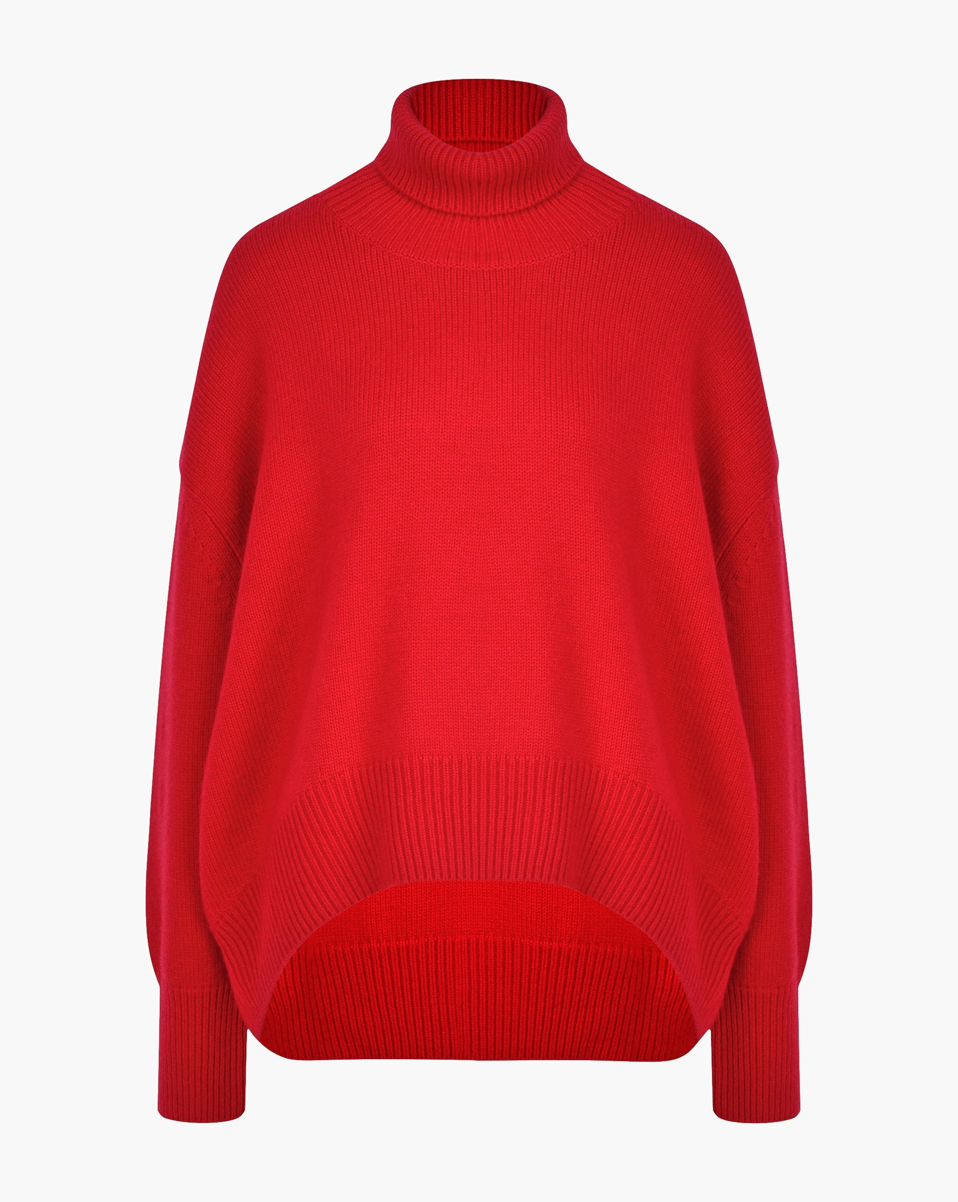 Cashmere and wool blend turtleneck jumper - 12 STOREEZ