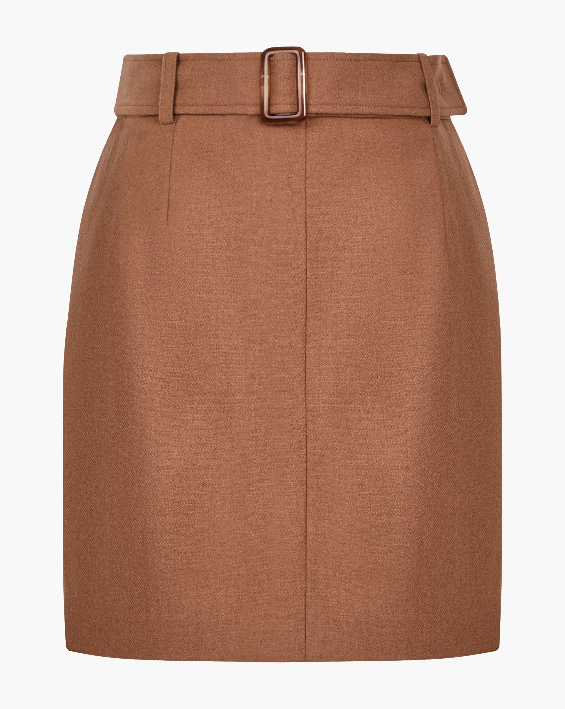 Buckle belt mini skirt - 12 STOREEZ