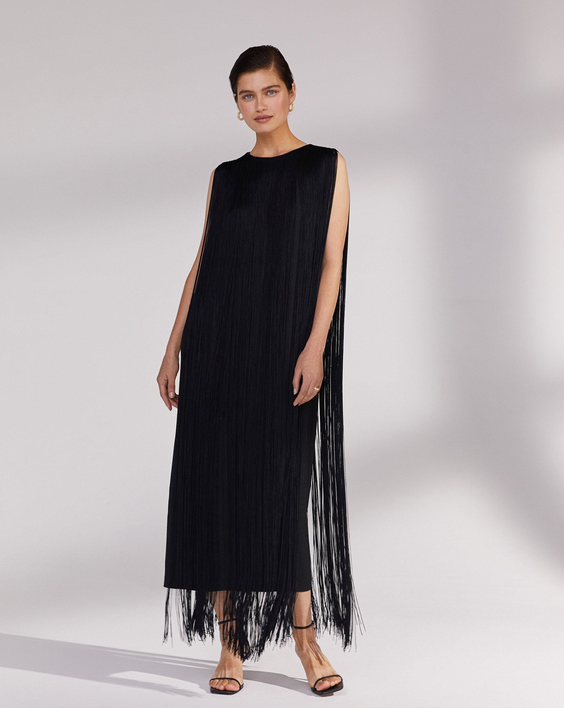 Fringe midi dress - 12 STOREEZ