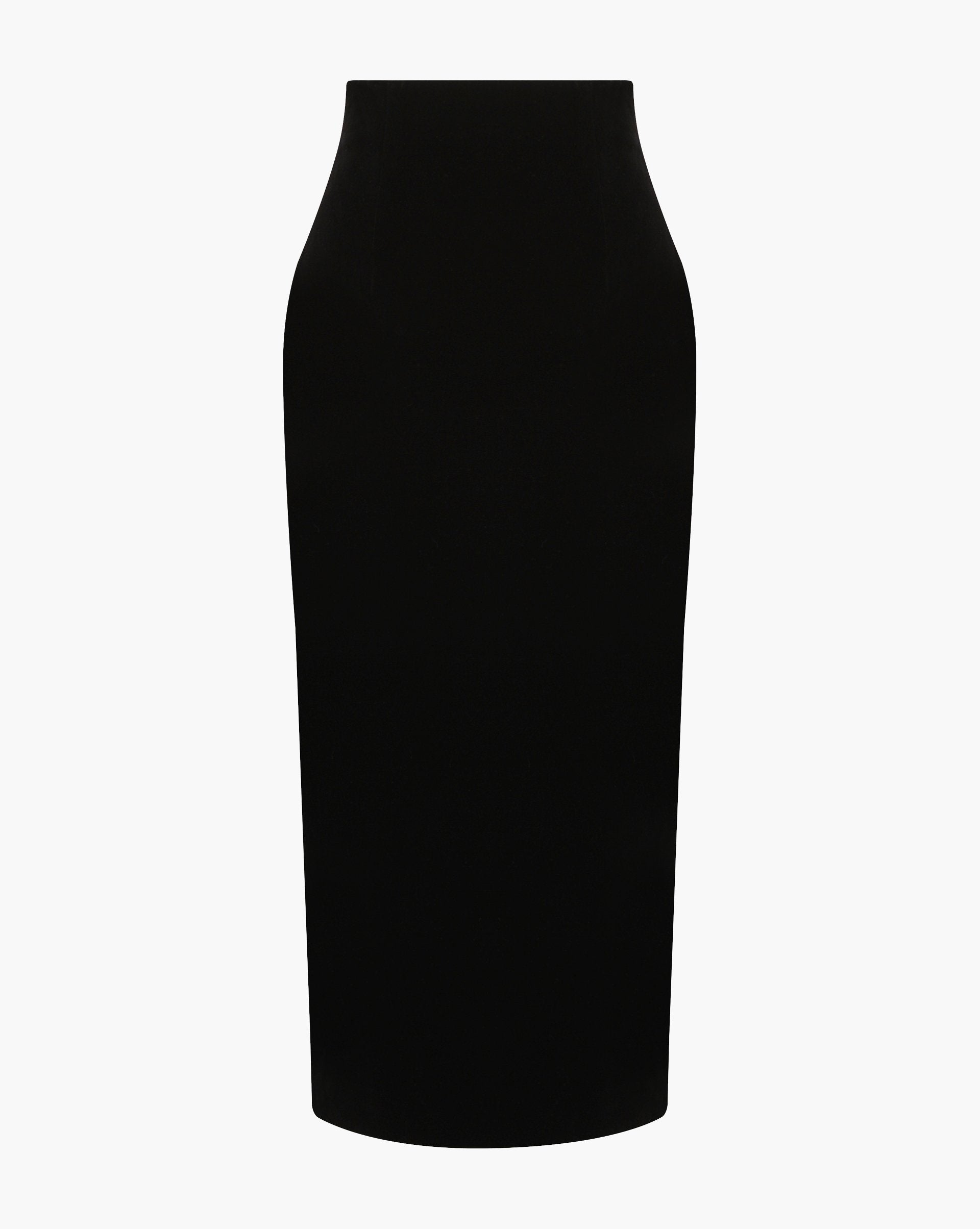 Velvet pencil skirt - 12 STOREEZ