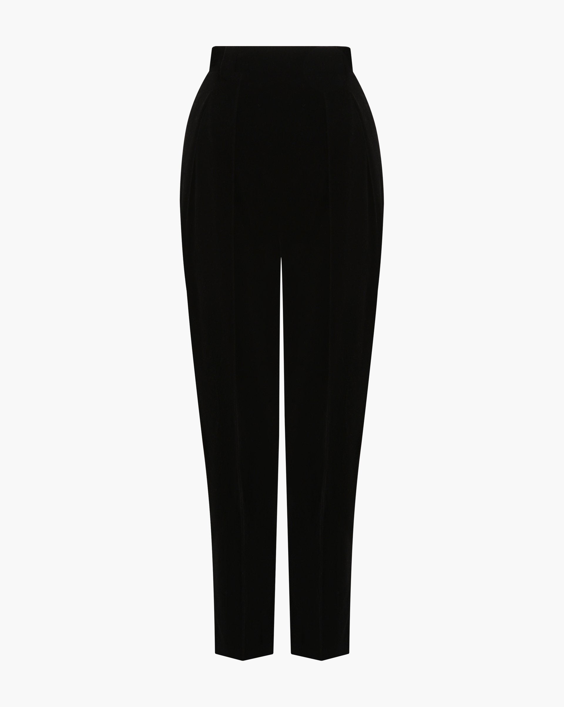 Pleated velvet trousers - 12 STOREEZ
