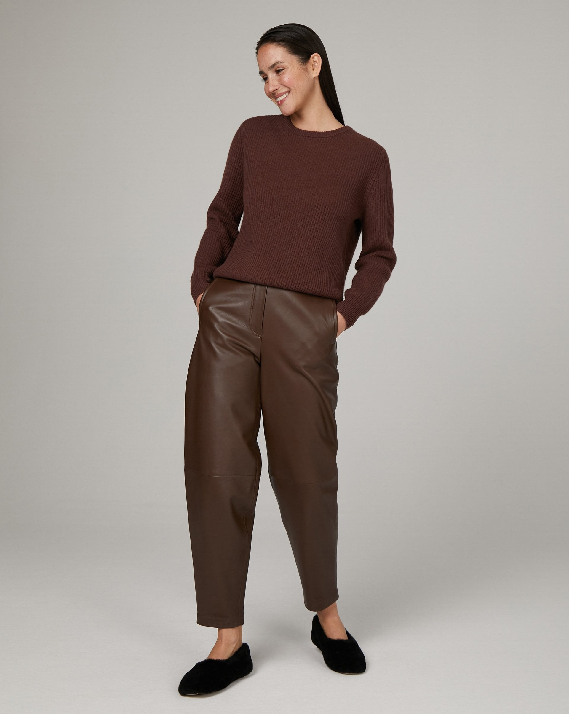 Wool and cashmere blend ribbed jumper - 12 STOREEZ