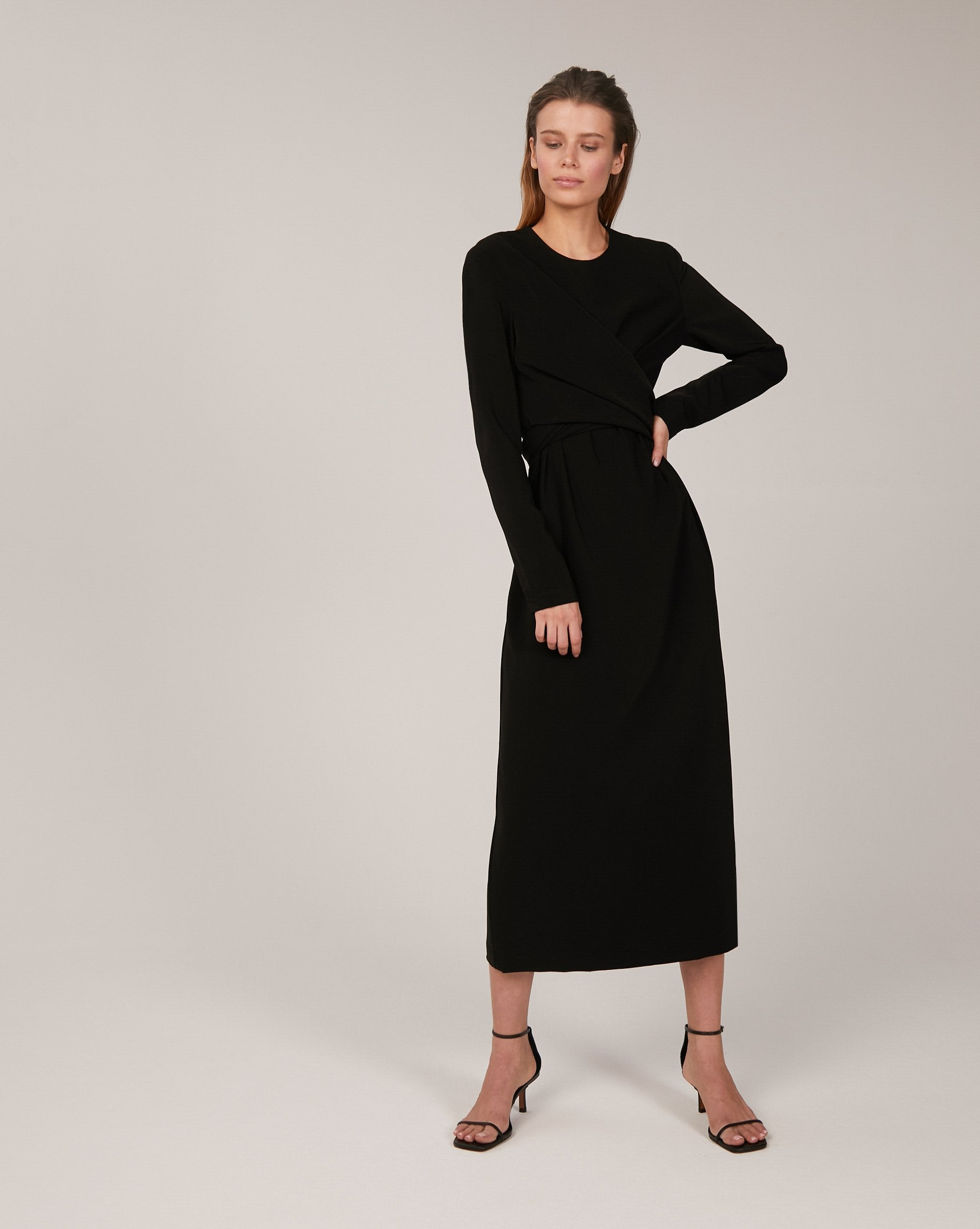 Wrap midi dress - 12 STOREEZ