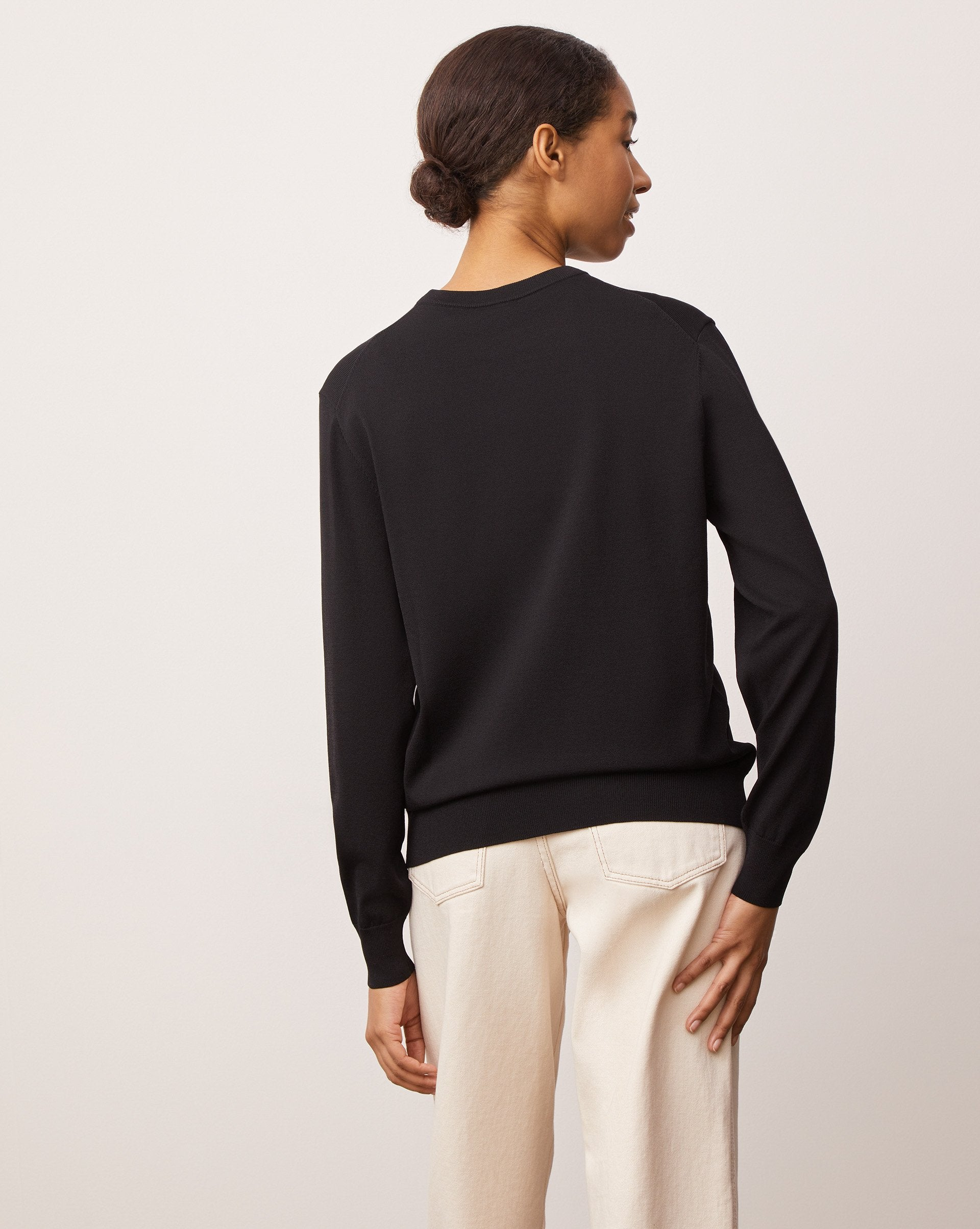 Fine knit crew neck jumper - 12 STOREEZ