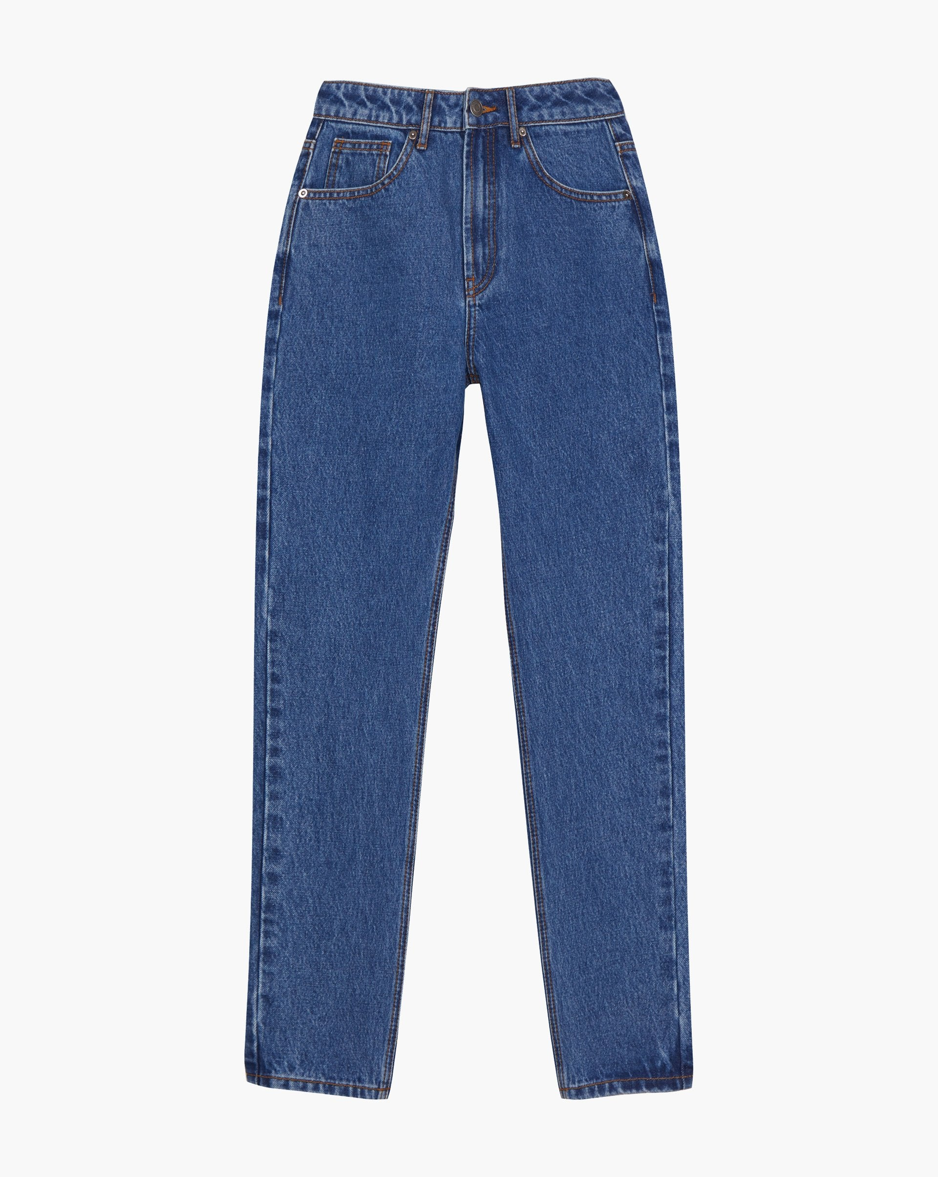 Relaxed fit straight leg jeans - 12 STOREEZ