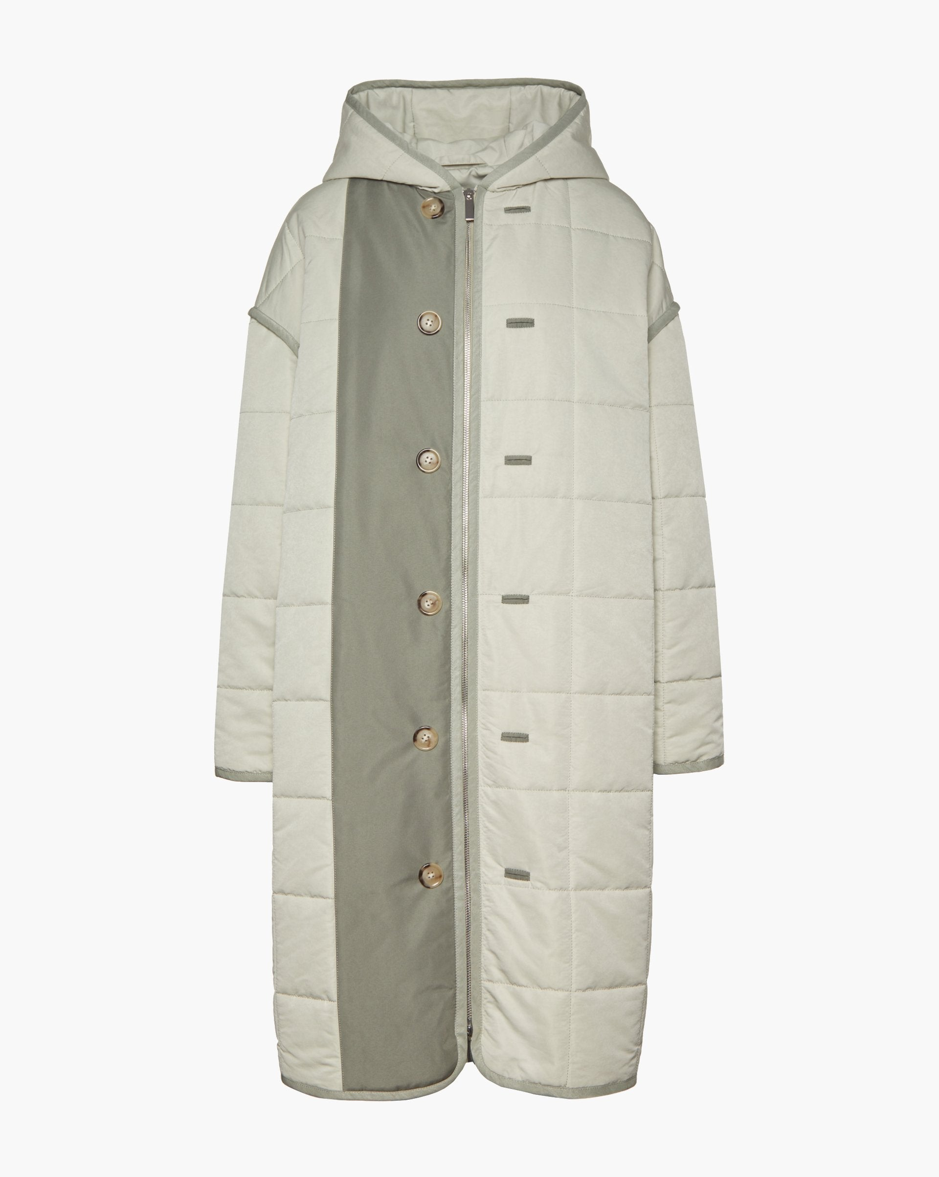 Oversized quilted puffer coat - 12 STOREEZ