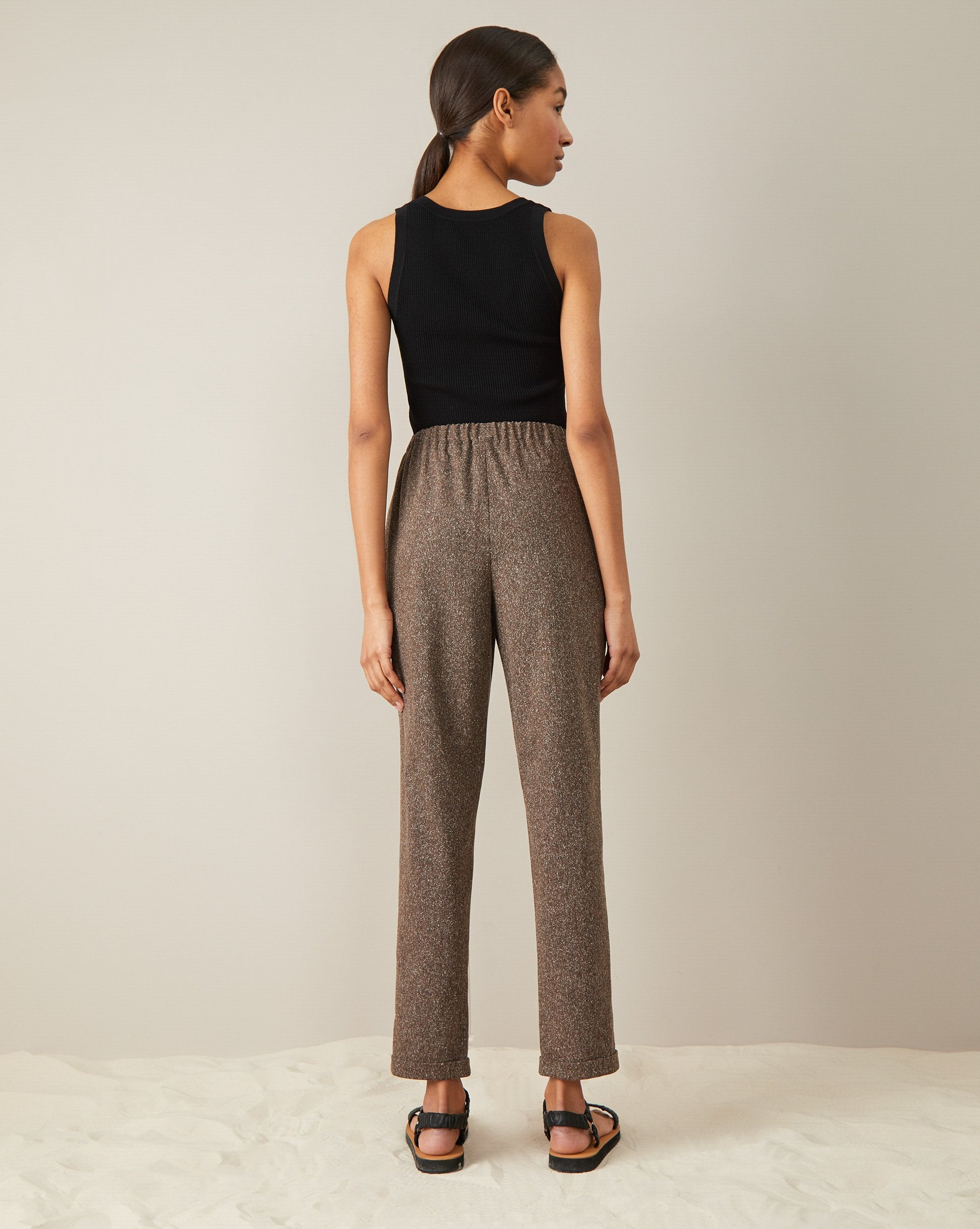 Trousers with an elastic band - 12 STOREEZ