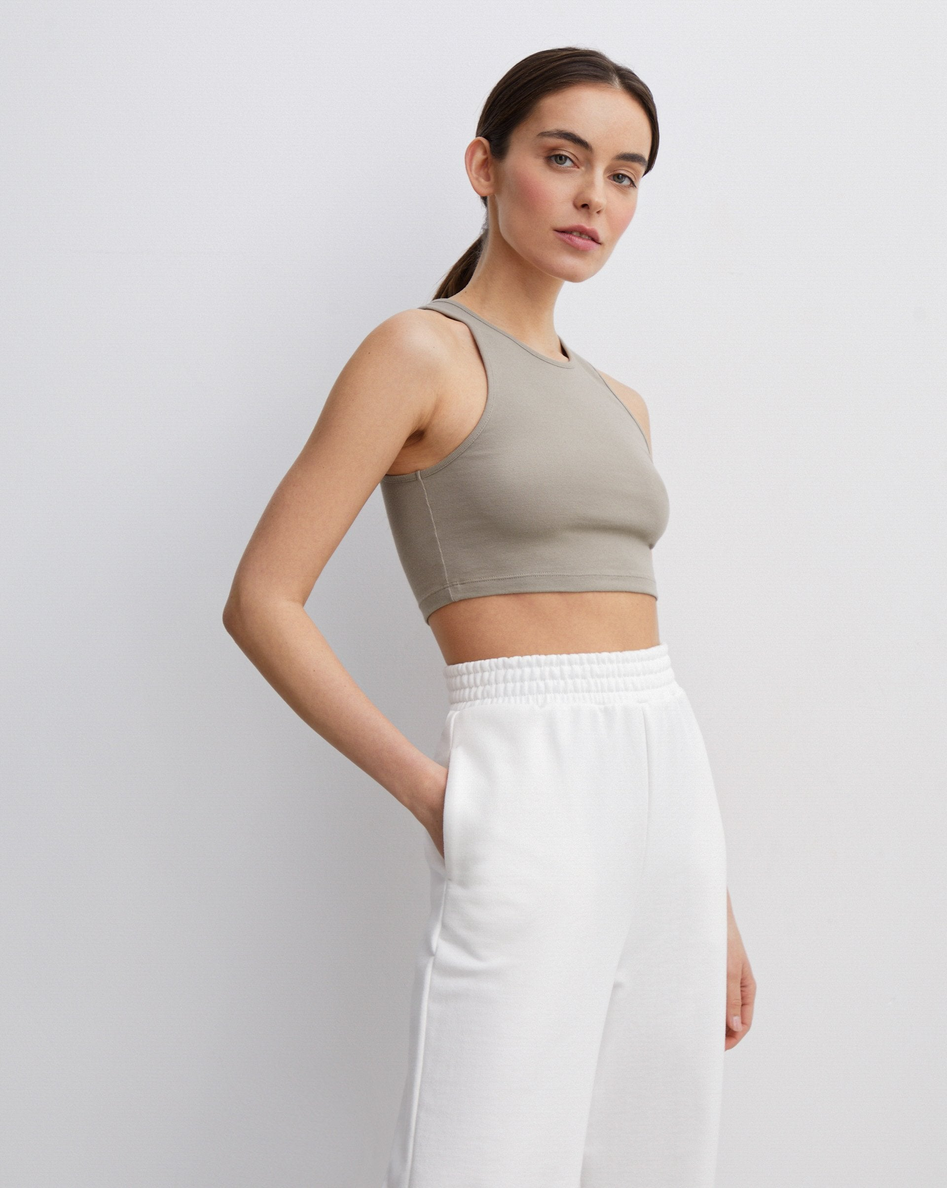Cotton cropped top - 12 STOREEZ