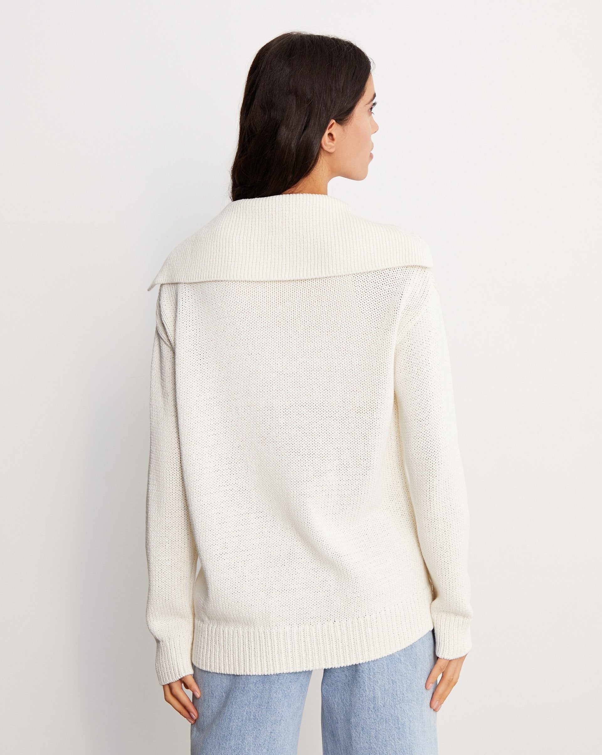 Linen and cotton blend cardigan - 12 STOREEZ