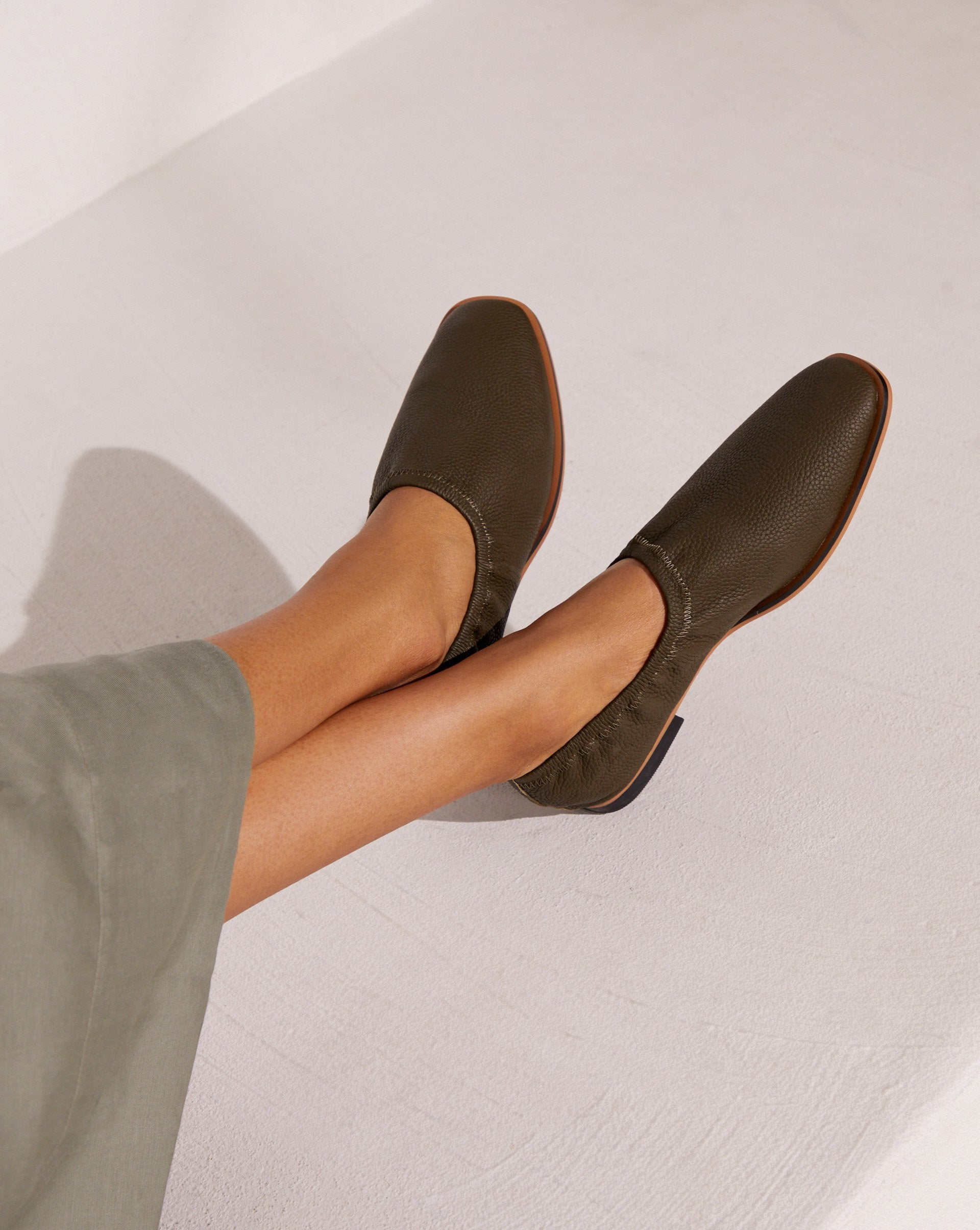 Grain leather loafers - 12 STOREEZ