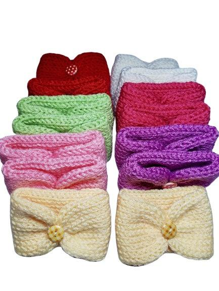 Free Handmade Knitted Coffee Sleeve Offer