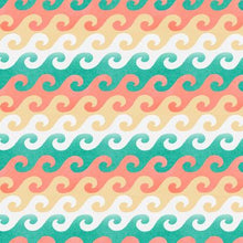 Load image into Gallery viewer, Beach Travel - Waves - 17334 - Cotton Fabric - Beachside Knits N Quilts