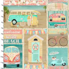 Load image into Gallery viewer, Beach Travel - Patch - 17338 - Cotton Fabric - Beachside Knits N Quilts