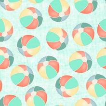 Load image into Gallery viewer, Beach Travel - Beach Balls - 17340 - Cotton Fabric - Beachside Knits N Quilts