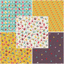Load image into Gallery viewer, Happy Owls by Craft Cotton Collection - Fat Quarter Bundle - Beachside Knits N Quilts