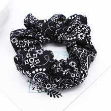 Load image into Gallery viewer, Paisley Hair Scrunchies