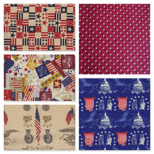 Load image into Gallery viewer, Americana Fat Quarter Bundle