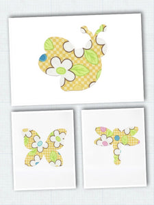 Iron On Fabric Appliqués - Bees, Dragonflies, Butterflies | Beachside Knits N Quilts