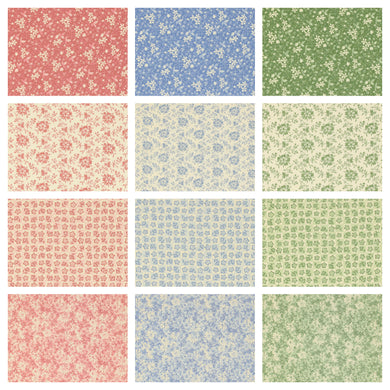 Hope Chest Botanicals Fat Quarter Bundle - Beachside Knits N Quilts