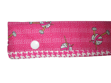Load image into Gallery viewer, Knitting Needle Cozy - Project Keeper - Pink Knit Chicks