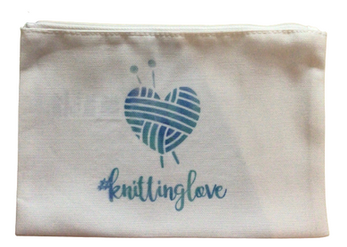 #knittinglove Zipper Pouch - Beachside Knits N Quilts