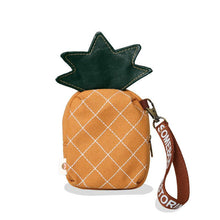 Load image into Gallery viewer, Pineapple Zipper Bag - Beachside Knits N Quilts