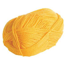 Load image into Gallery viewer, Brava Worsted Yarn - Canary - Set of 2 Mini Skeins