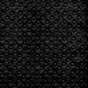 "Minky Dot Fabric 60"" Wide - Black"